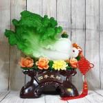ln064 bap cai xanh khung mau don 2.jpg 150x150 Bắp cải xanh khủng trên bụi mẫu đơn đế gỗ LN064