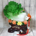 ln064 bap cai xanh khung mau don.jpg 150x150 Bắp cải xanh khủng trên bụi mẫu đơn đế gỗ LN064