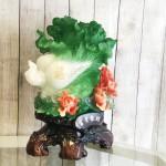 ln065 bap cai mau don 2.jpg 150x150 Bắp cải xanh khủng chữ Phước trên bụi mẫu đơn đỏ LN065
