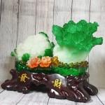 ln070 bap cai su lo lon.jpg 150x150 Bắp cải và hoa cải xanh trên bụi mẫu đơn lưu ly đế gỗ lớn LN070