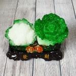 ln071 bap cai su lo nho 1.jpg 150x150 Bắp cải và hoa cải xanh trên bụi mẫu đơn lưu ly đế gỗ nhỏ LN071