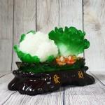 ln071 bap cai su lo nho.jpg 150x150 Bắp cải và hoa cải xanh trên bụi mẫu đơn lưu ly đế gỗ nhỏ LN071