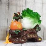 ln074 bap cai cam vang 1.jpg 150x150 Bắp cải xanh lớn bên cây trái cam đế gỗ LN074