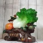 ln074 bap cai cam vang.jpg 150x150 Bắp cải xanh lớn bên cây trái cam đế gỗ LN074