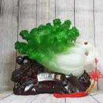 ln075 bap cai cuon nhu y cu lac 1.jpg 150x150 Bắp cải xanh lớn uốn như ý trên củ lạc gỗ  LN075