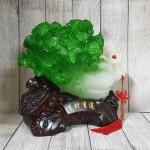 ln075 bap cai cuon nhu y cu lac 2.jpg 150x150 Bắp cải xanh lớn uốn như ý trên củ lạc gỗ  LN075