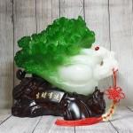 ln075 bap cai cuon nhu y cu lac.jpg 150x150 Bắp cải xanh lớn uốn như ý trên củ lạc gỗ  LN075