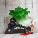 ln076 bap cai cuon nhu y 2.jpg 150x150 Bắp cải xanh lớn uốn như ý trên hồ lô gỗ LN076