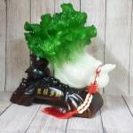 ln076 bap cai cuon nhu y.jpg 150x150 Bắp cải xanh lớn uốn như ý trên hồ lô gỗ LN076