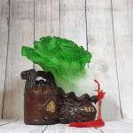 ln079 bap cai thung nguyen bao 1.jpg 150x150 Bắp cải có xâu tiền trên thùng nguyên bảo đế gỗ LN079