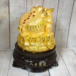 ln090 thiem thu tui vang.jpg 150x150 Thiềm thừ vàng trên túi vàng lớn đế gỗ xoay LN090