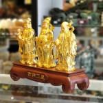 ln114 tam da vang 1.jpg 150x150 Tam đa phước lộc thọ vàng bóng trên đế gỗ LN114