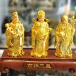 ln114 tam da vang.jpg 150x150 Tam đa phước lộc thọ vàng bóng trên đế gỗ LN114