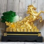 ln120 ngua vang keo cai 1.jpg 150x150 Thần ngựa vàng khủng kéo xe cải xanh trên đống tiền vàng LN120