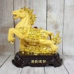 ln127 vua ngua kim sa 2.jpg 150x150 Vua ngựa kim sa vàng bóng trên đá vàng đế gỗ LN127