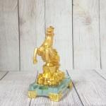 ln136 vua ngua nguyen bao 1.jpg 150x150 Vua ngựa vàng bóng trên nguyên bảo vàng tiền vàng đế thuỷ tinh LN136