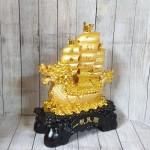 ln138 thuyen buom vang dau rong.jpg 150x150 Thuyền buồm đầu rồng vàng bóng chở tiền vàng trên sóng vàng khủng LN138