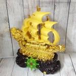 ln139 thuyen buom dau rong sa kim.jpg 150x150 Thuyền buồm đầu rồng vàng kim sa bóng lướt sóng vàng bánh lái xanh ngọc LN139