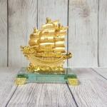 ln146 thuyen buom rong nho 2.jpg 150x150 Thuyền buồm song long vàng bóng trên sóng vàng đế thuỷ tinh LN146