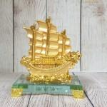 ln146 thuyen buom rong nho.jpg 150x150 Thuyền buồm song long vàng bóng trên sóng vàng đế thuỷ tinh LN146
