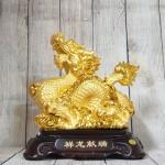 ln148 rong vang nho 2.jpg 150x150 Vua rồng vàng bóng cầm hoàng ngọc cưỡi mây vàng đế gỗ LN148