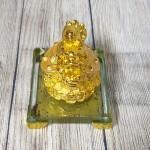 ln164 long quy kim nguyen bao nho 1.jpg 150x150 Thần rùa đầu rồng vàng bóng nhả kim nguyên bảo trên đống tiền vàng đế thuỷ tinh LN164