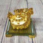 ln164 long quy kim nguyen bao nho.jpg 150x150 Thần rùa đầu rồng vàng bóng nhả kim nguyên bảo trên đống tiền vàng đế thuỷ tinh LN164
