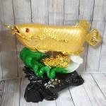 ln165 than ca kim long tren be cai.jpg 150x150 Thần cá kim long vàng bóng trên bẹ cải như ý xanh sóng tiền vàng khủng LN165