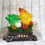 ln169 ca chep bap cai 1.jpg 150x150 Tiên cá chép cam vàng lưu ly bên bắp cải xanh ngọc vẫy sóng mẫu đơn lưu ly đa sắc LN169