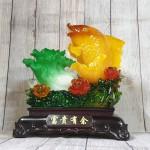 ln169 ca chep bap cai 2.jpg 150x150 Tiên cá chép cam vàng lưu ly bên bắp cải xanh ngọc vẫy sóng mẫu đơn lưu ly đa sắc LN169