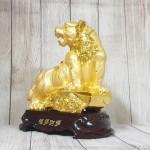 ln182 chua ho vang 1.jpg 150x150 Chúa hổ vàng bóng lưng hồng châu gầm trên núi đá vàng đế gỗ LN182