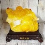 ln187 di lac cam luu ly 1.jpg 150x150 Phật di lạc cam vàng ngọc vác như ý có hồng châu trên túi tài lộc khủng LN187