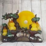 ln199 cay 5 ho lo 2.jpg 150x150 Cây hồ lô năm quả vàng ngọc có trăng cam vàng lưu ly lớn   Ngũ Phước Bình An LN199