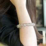 Chuỗi thạch anh tóc bạch kim A+++++ (65.2g   15bi)S6752 S5 5607