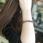 Chuỗi thạch anh tóc đỏ đồng A+++ (25.3g   20bi) S6748 S5 3238